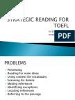 Strategic Reading for TOEFL