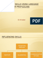 Influencing Skills