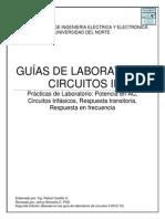 GUÍAS DE LABORATORIO CIRCUITOS II