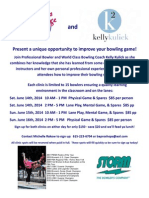 BAPS & Kelly Kulick Bowling Clinic
