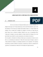 ARRANQUE DE LÁMPARAS FLUORESCENTES