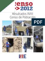 Informe - Resultados Censo 2012 - INE