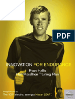 Ryan Hall Half Marathon Plan