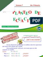 PLANTEO DE ECUACIONES I (1º Sec)