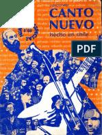 La.bicicleta-Cancionero Canto Nuevo (Mayo 1983)