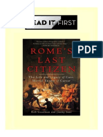 105196264 Rome s Last Citizen the Life and Legacy of Cato Mortal Enemy of Caesar