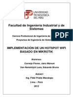 Implementacion Hotspot Mikrotik