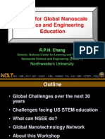 Vision for Global Nanoscale Science and Engineering Education