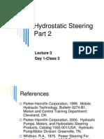 Hydraulic Steering 2