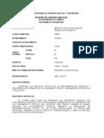 QM307-Mdos. opticos de analísis Químico instrumental.