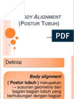 Body Alignment (PosturTubuh)