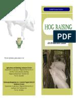 Hog RAISING