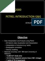 Petrel Introduction