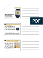 Uso GPS Promark3