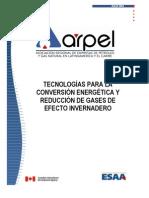 Tecnologíaspara la Conversión Energética y Reducción de GEI