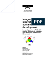 2002 Integrated Biosystems for Sustainable Development