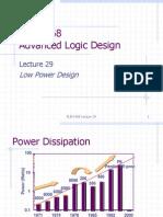LOW POWER DESIGN METHODODLOGIES