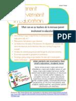 parent involvement handout turnin