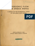 Supersonic Flow and Shock Waves by Courant & Friedrichs