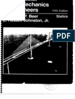 Vector Mechanics - Statics - F Beer & E Russel - 5th Edition Solution Book