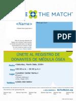 10881 Be the Match Flier-Custom_Spanish