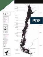 Mapa de Chile Abril 2012