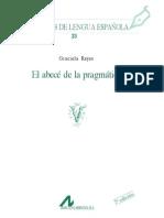 REYES 2007 El ABC de La Pragmatica