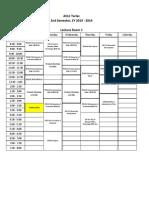 AA Room Schedules 2nd Sem