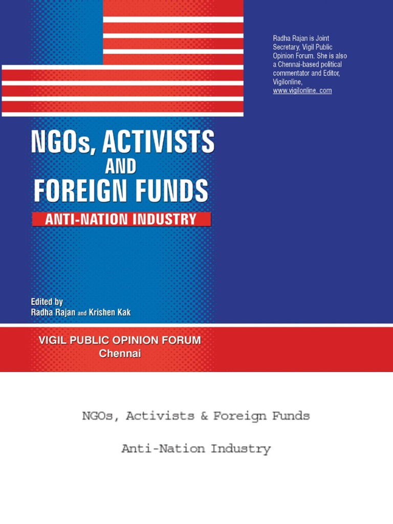 9e10b8ce79b06 NGOs Activists and Foreign Funds | Mahatma Gandhi | Jawaharlal Nehru