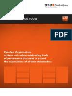 Pdf efqm excellence model
