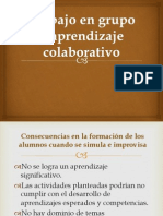 Trabajo en Grupo y Aprendizaje Cooperativo