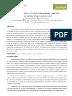 6. Manage-Organizational Culture and Job-belias Dimitrios