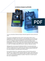 Building Your Own Antenna Analyzer by ZS1JHG