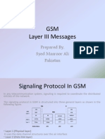 GSM Layer 3 Messages