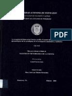 La recepción de Khun en las Ciencias sociales El asunto de las implicaciones epistemológicas de los paradigmas de la investigación cualitativa y cuantitativa