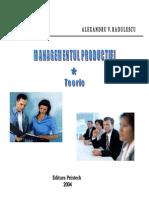 Management Ul Product i e i