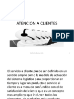 Atencion a Clientes