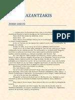 Nikos Kazantzakis-Zorba Grecul