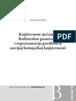 Sanjin Kodric - Knjizevnost Sjecanja