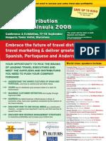EyeforTravel - Travel Distribution Iberian Peninsula 2008