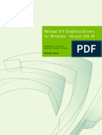 nvidia 320.49 Win8 Win7 Notebook Release Notes