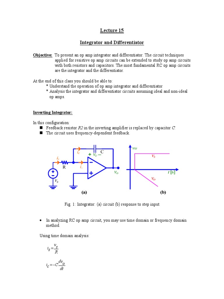 Files-3-Lesson Notes Lecture 15   Operational Amplifier (14