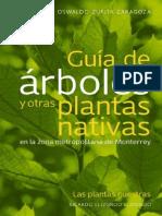 Guía de árboles y otras plantas nativas en la zona metropolitana de Monterrey.