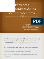 Cap. 8 Fármacos antagonistas de los colinorreceptores
