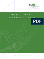 NGMN Whitepaper Small Cell Backhaul Requirements