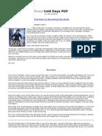 read cold days pdf