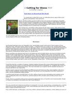 read cutting for stone pdf