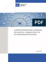 Implementation Review of the Clarified ISAs