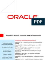 Approval Framework (AWE) Basic Overview