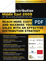 EyeforTravel - Travel Distribution Middle East (2008)